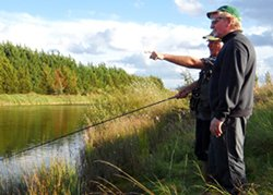 Larton Course Fishing